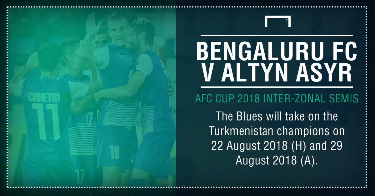 GFX Bengaluru FC AFC Cup 2018 Inter-Zonal Semis