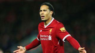 Virgil van Dijk Liverpool FA Cup