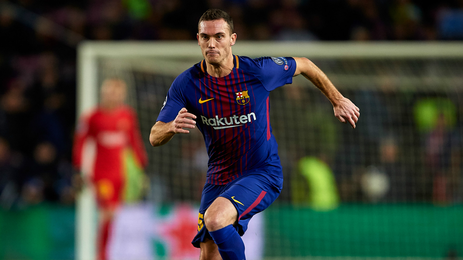 Thomas Vermaelen Barcelona Sporting Champions League