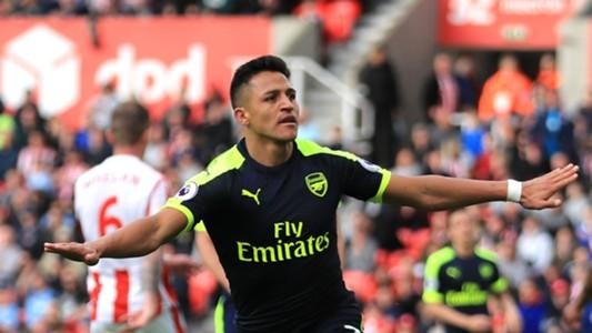Alexis Sanchez Arsenal Premier League 051317