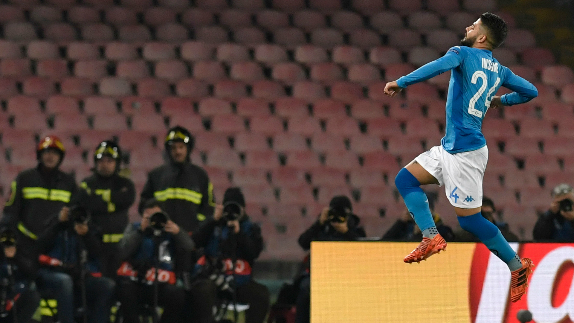 Insigne Napoli Shakhtar Champions League