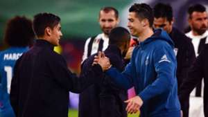 Paulo Dybala Cristiano Ronaldo Champions League 2017-18