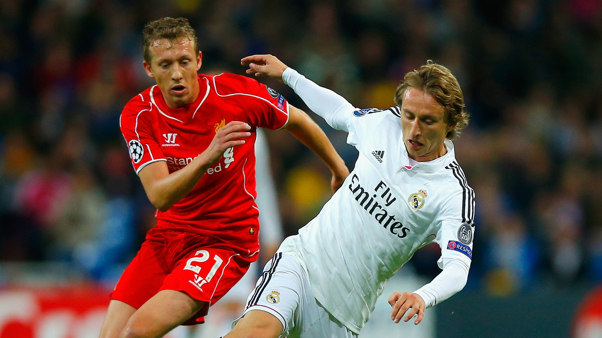 Liverpool vs Real Madrid Champions League 2014-15