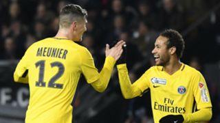 Thomas Meunier Neymar PSG