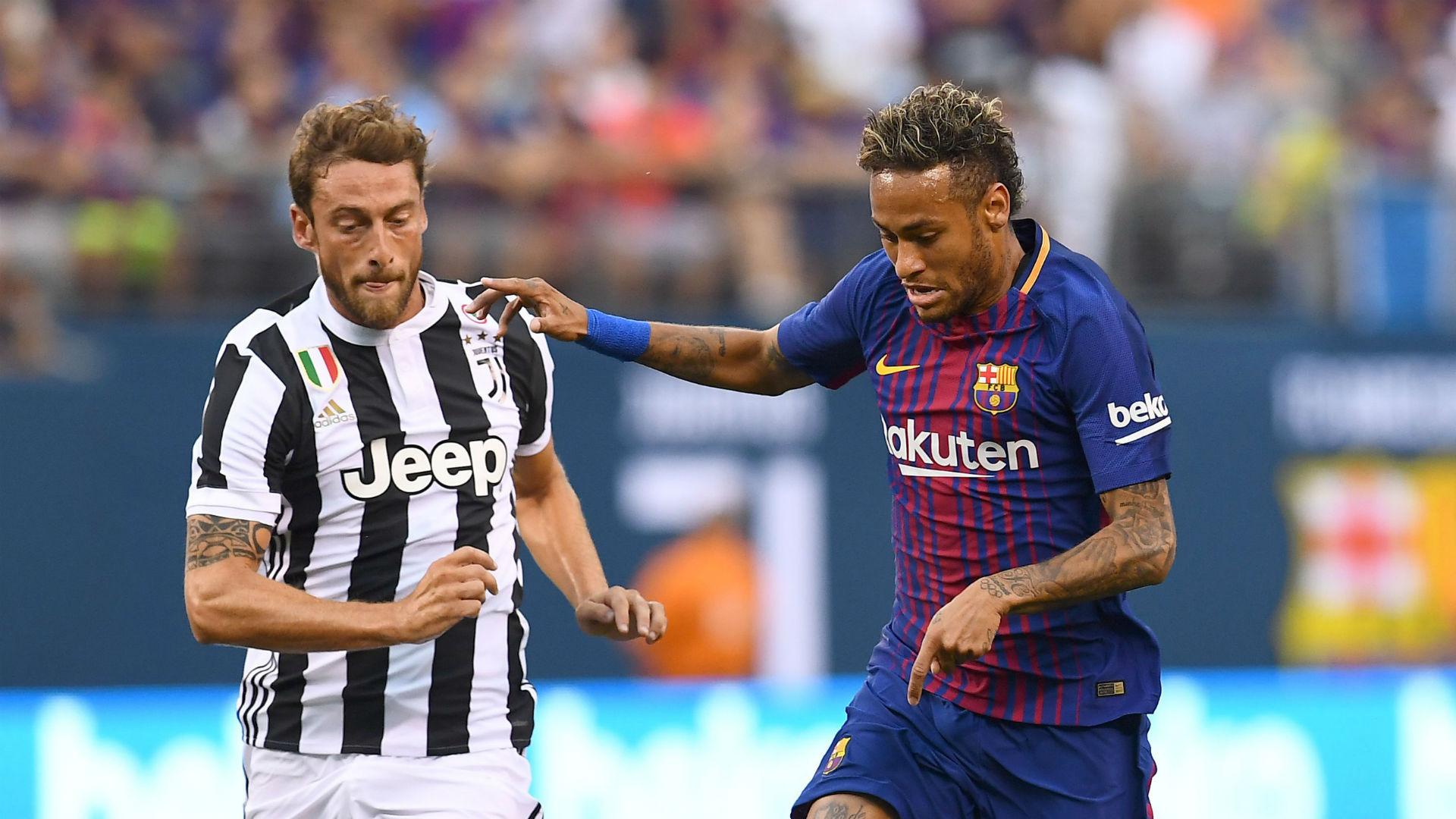 Neymar Claudio Marchisio Barcelona Juventus ICC