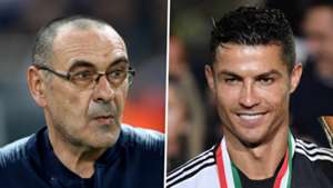 Sarri in special meeting with Ronaldo as he wants him to play central striker role for Juventus