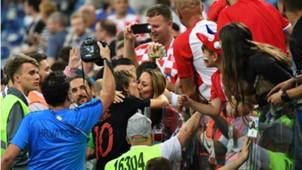 Luka and Vanja Modric Croatia World Cup 01072018