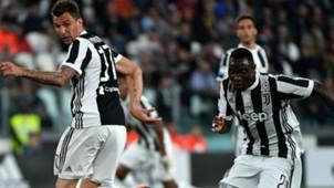Mario Mandzukic Asamoah Juventus Fiorentina Serie A