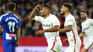 Gabriel Mercado Sevilla Espanyol LaLiga 11112018