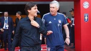 Carlo Ancelotti, Vincenzo Montella - Bayern Munich-Milan