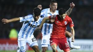 Soto Nacho Fernandez Racing River Copa Libertadores octavos de final 09082018