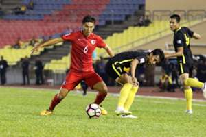 2019 AFC Asian Cup qualification third round, Hong Kong 1:1 Malaysia.