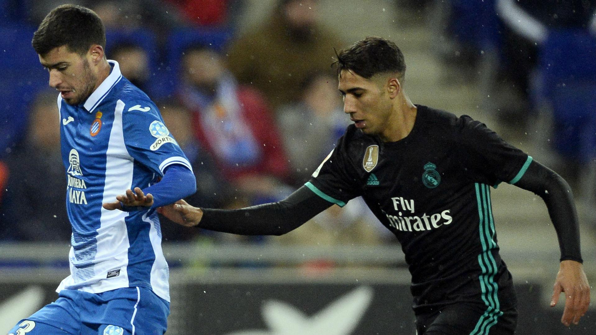 Aaron Martin, Espanyol, Achraf Hakimi, Real Madrid
