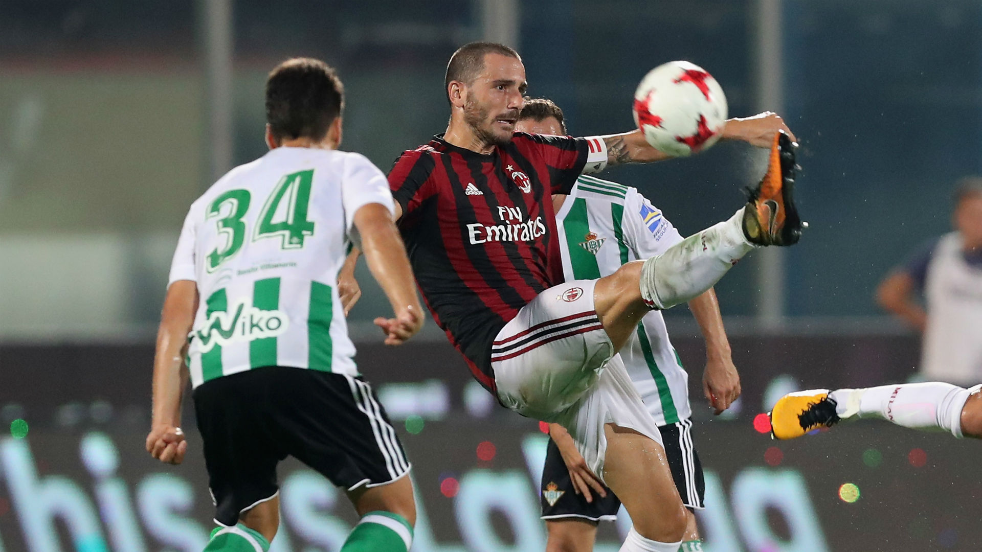 bonucci captain - milan betis - friendly - 0908201