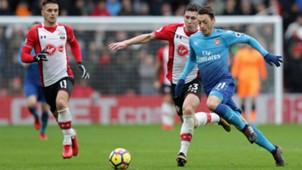 Mesut Ozil Arsenal Southampton