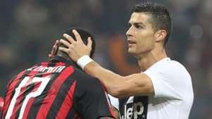 Cristiano Ronaldo Milan Juventus