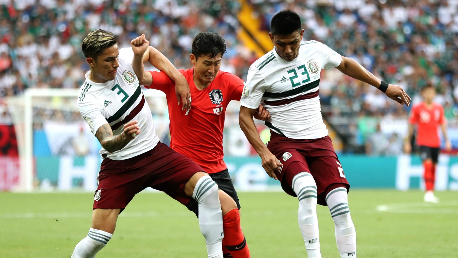 Son Heung-Min México Corea WC 2018