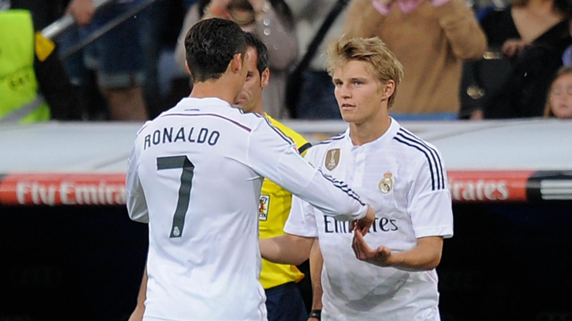 2015 Real Madrid Getafe Cristiano Ronaldo Martin Odegaard
