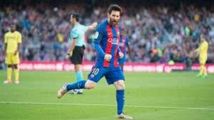 Lionel Messi Barcelona Villarreal LaLiga 06052017