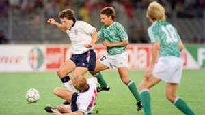 West Germany England World Cup 1990