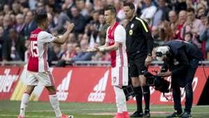 Vaclav Cerny, Ajax, Eredivisie, 04022017