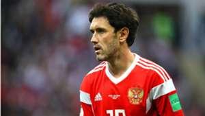 Zhirkov Russia Copa do Mundo 06 07 2018