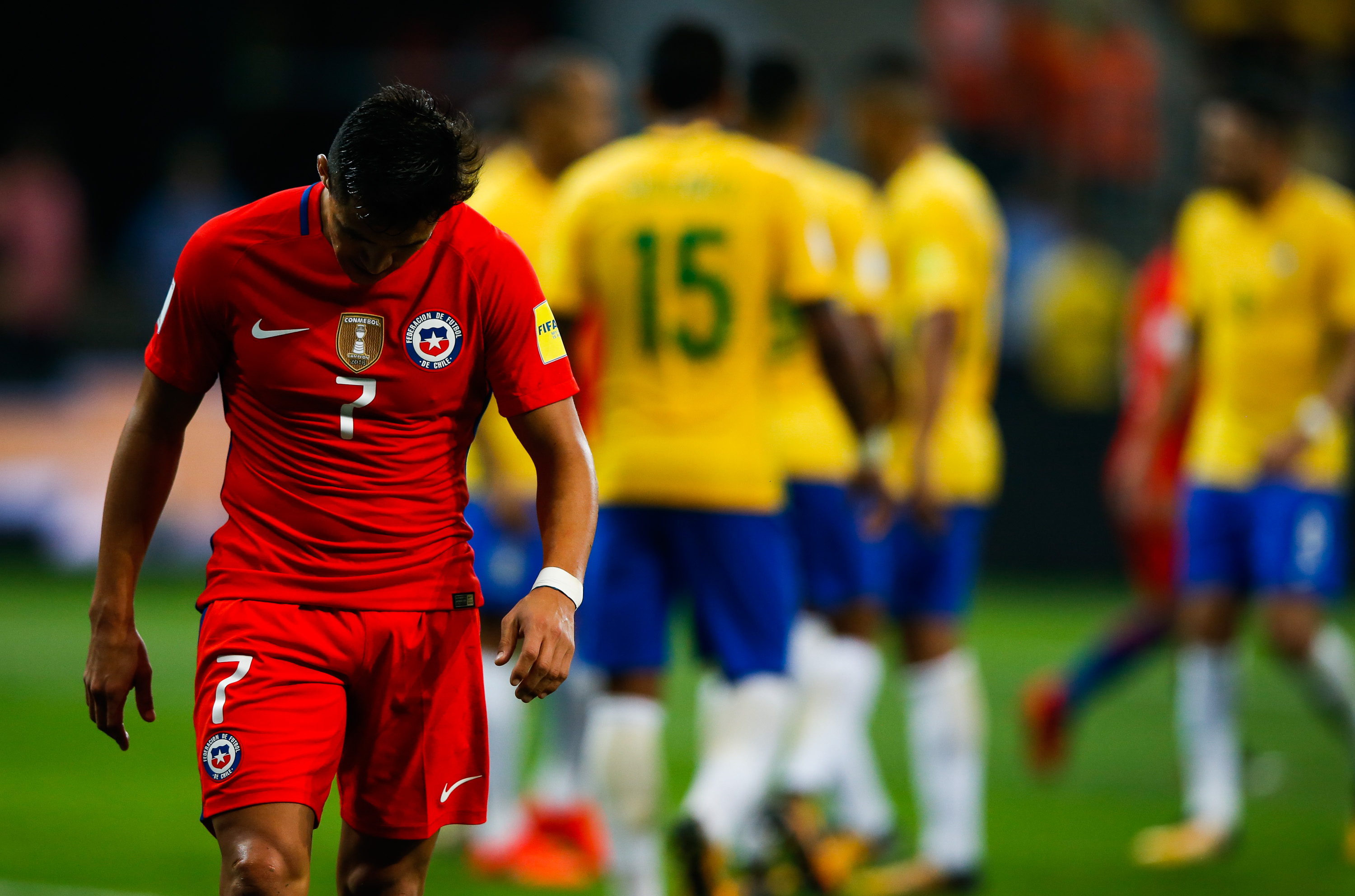 Alexis Sanchez VS Brazil