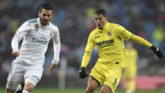 Nacho Fernandez Pablo Fornals Real Madrid Villarreal LaLiga 13012018