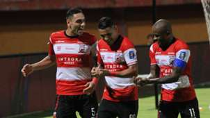 Selebrasi Alberto Goncalves Madura United