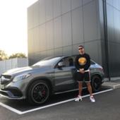 Cristiano Ronaldo coche
