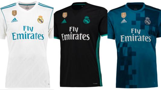 69eb7079807fb Así son las nuevas camisetas del Real Madrid para la temporada 2017-2018