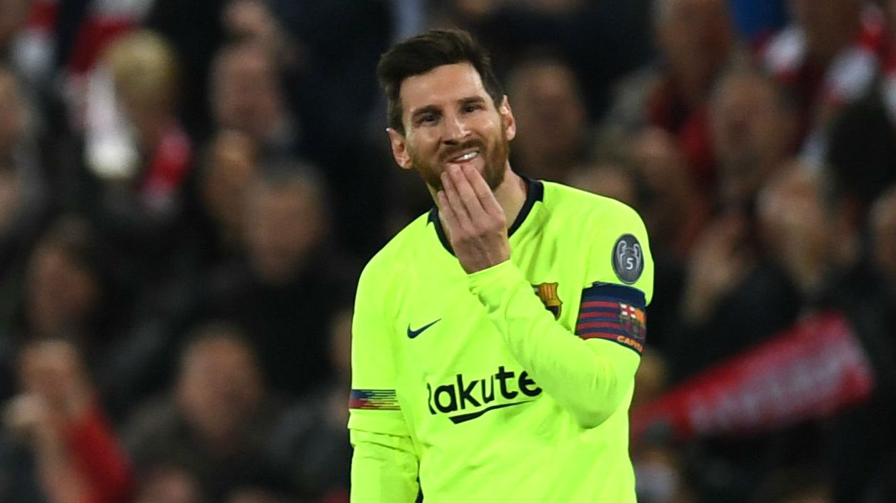 Messi Liverpool Barcelona Champions League 07 05 2019