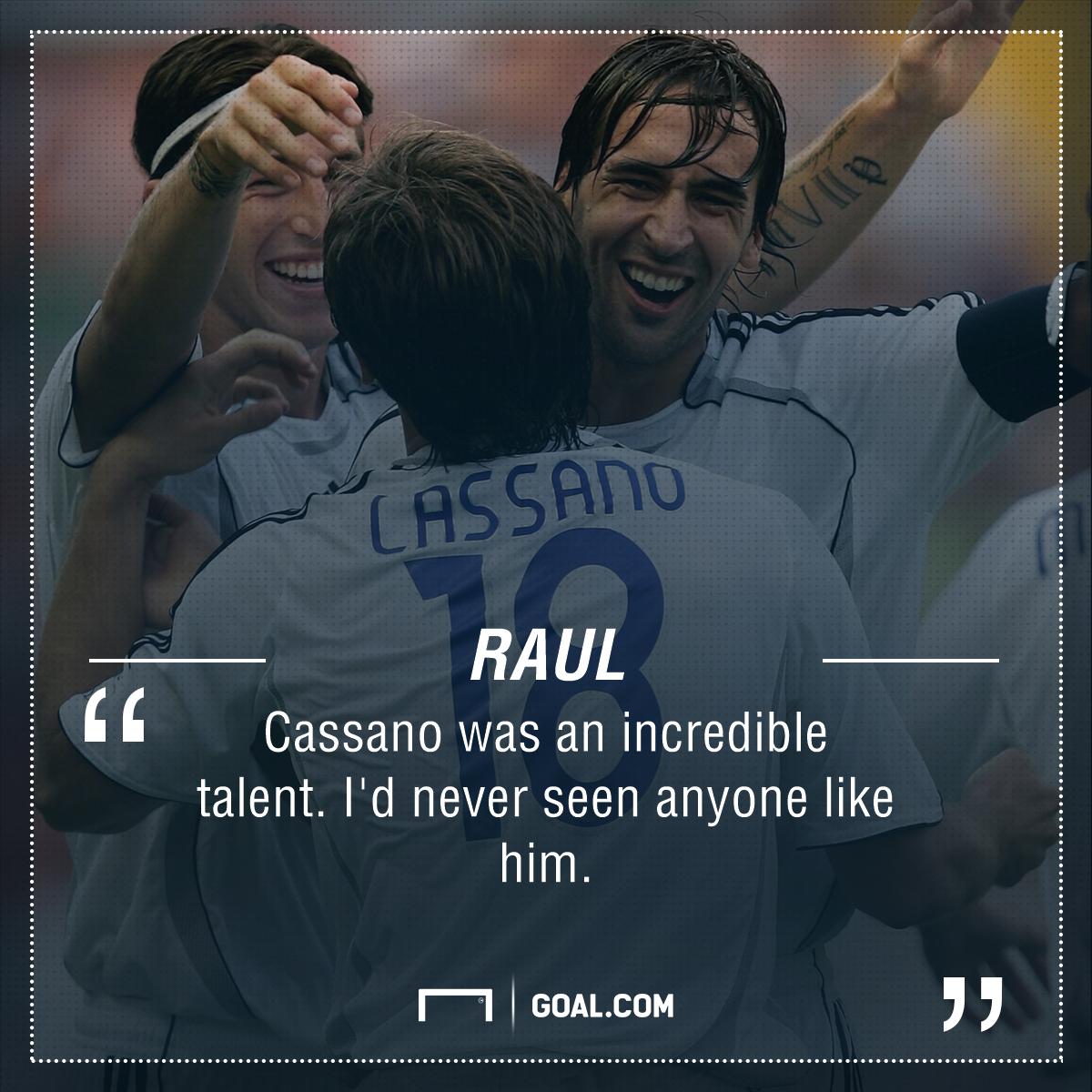 Antonio Cassano Raul PS