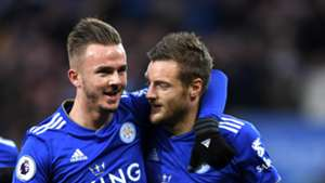 James Maddison Jamie Vardy Leicester City 01122018