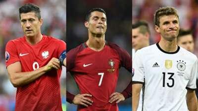 Cristiano Ronaldo Robert Lewandowski Thomas Muller