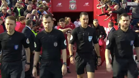 Former A-League referee officiates Liverpool Legends match