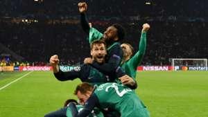 Rose Tottenham Ajax Celebration