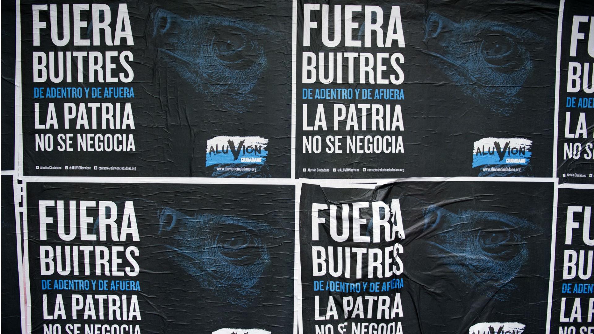 Argentina vultures