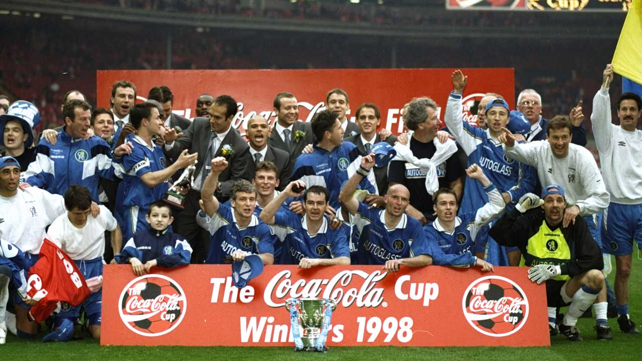 Chelsea 1998 League Cup win