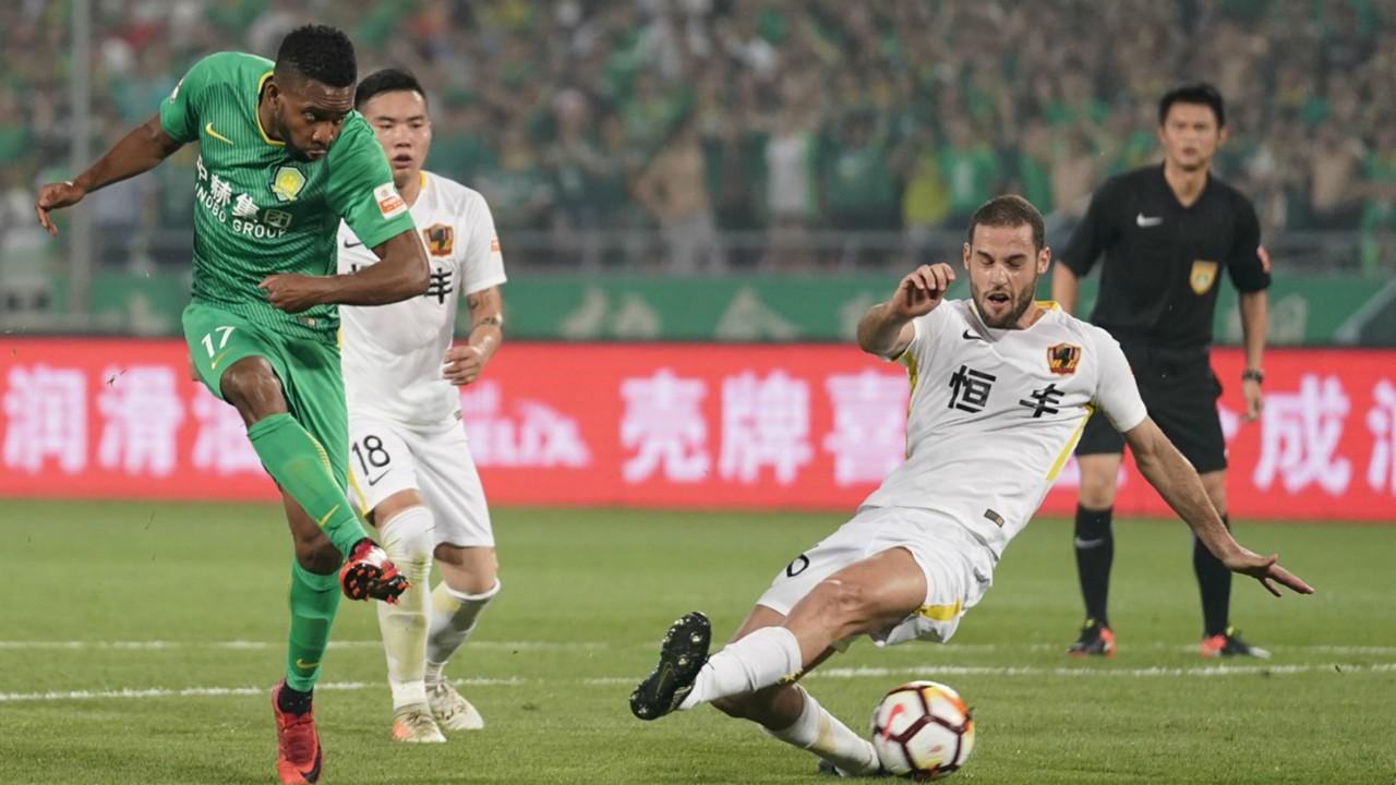 Cedric Bakambu on target in Beijing Guoan's unimpressive 2018-19 Chinese Super League ending