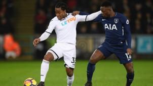 Victor Wanyama of Tottenham Spurs.