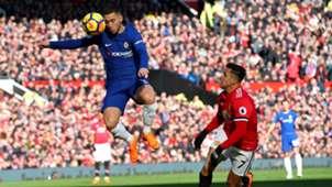 Manchester United FC Chelsea Eden Hazard Alexis Sanchez 25022018