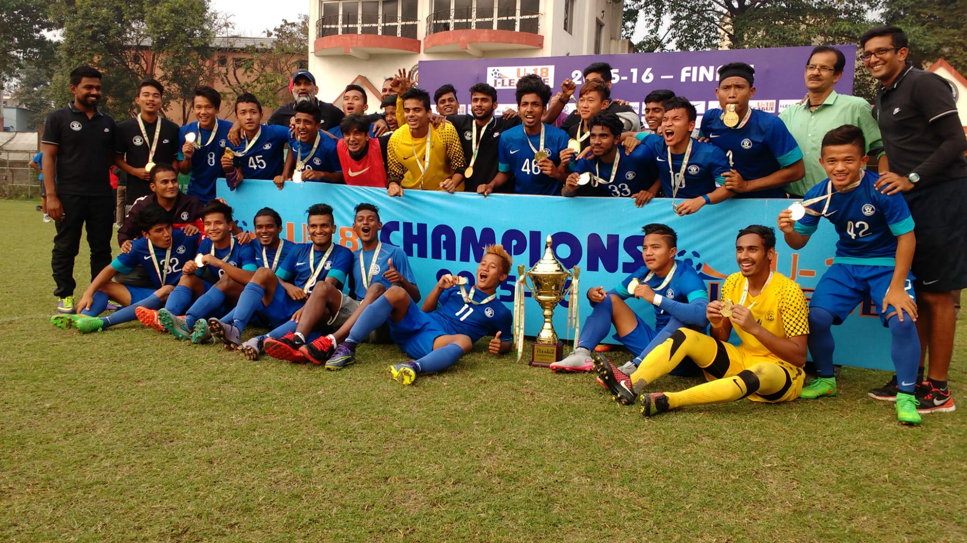 Floyd Pinto 2015 U-18 Champions