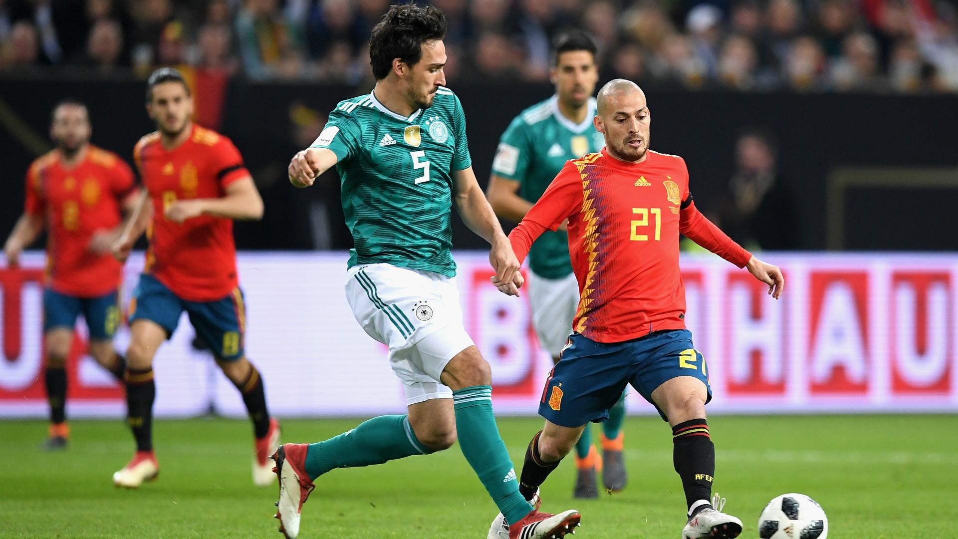 Mats Hummels David Silva Deutschland Spanien Germany Spain 23032018