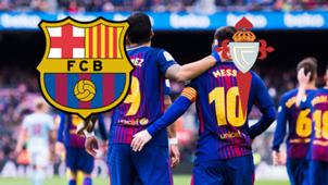 GFX FC Barcelona Celta Vigo Copa Del Rey 11012018