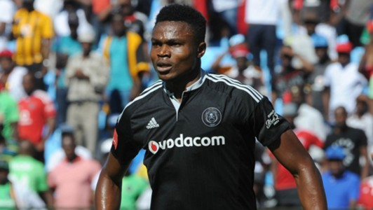 James Okwuosa of Orlando Pirates