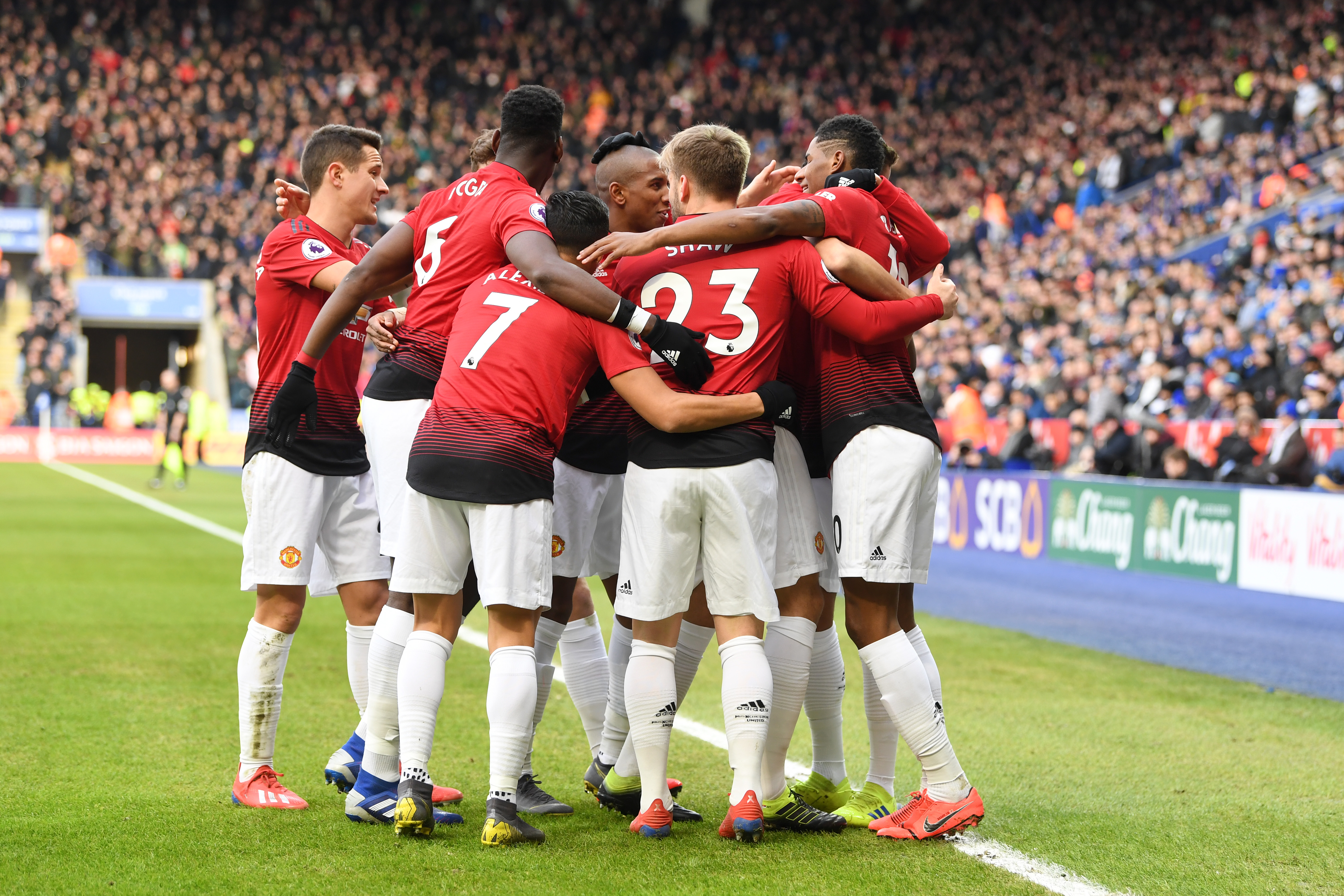 Manchester united Leicester city 02032019