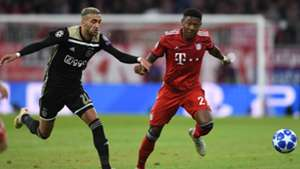 David Alaba FC Bayern Champions League 02102018