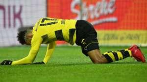 Pierre Emerick Aubameyang Borussia Dortmund Werder Bremen Bundesliga 09122017