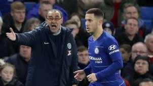 sarri Hazard Chelsea